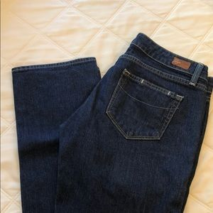 Paige Blue Heights Premium Denim Jeans Straight